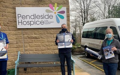 Comfort Donated to Pendleside Hospice