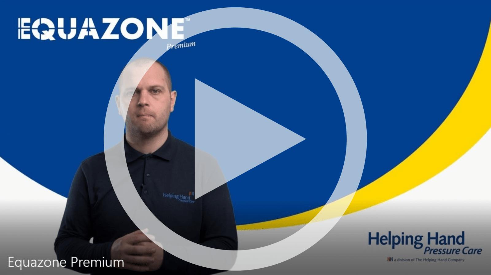 Equazone Premium Air Cushion Wheelchair Pressure Cushion High Risk