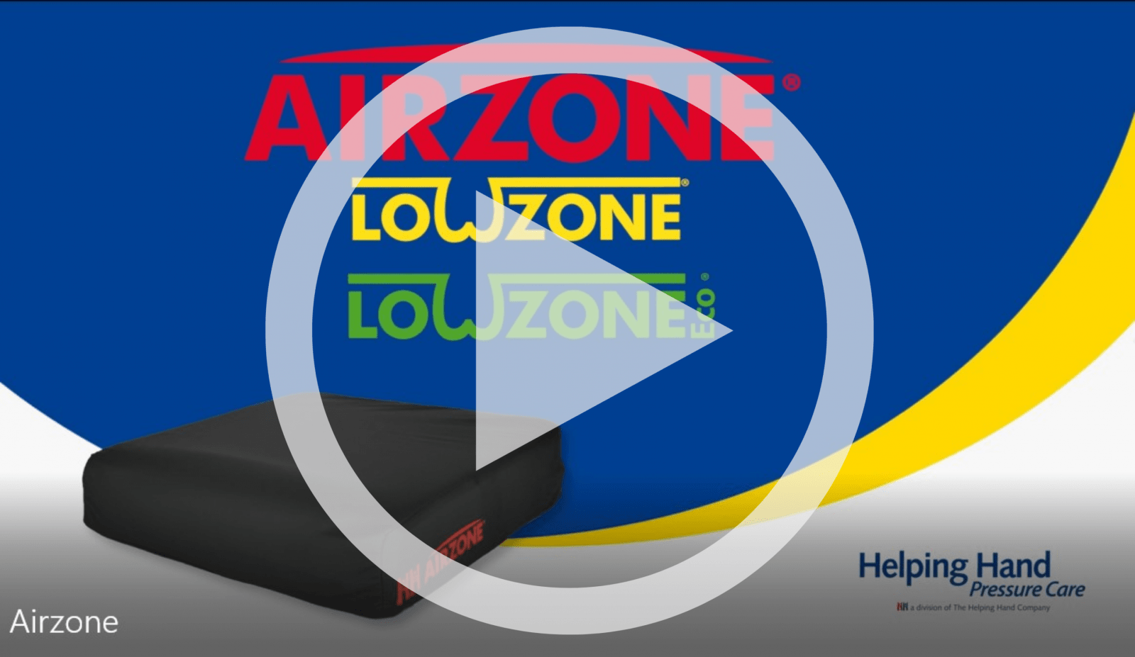 Airzone Bariatric high risk pressure relief cushion microclimate